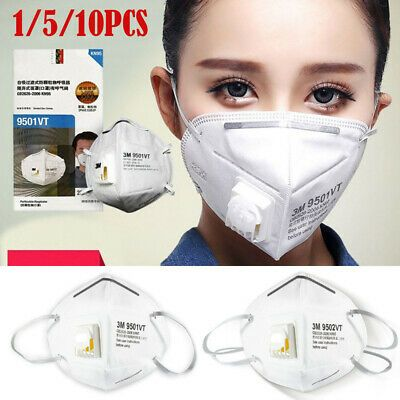 Ad Ebay 1 5 10 Washable Reusable N95 Anti Air Pollution Face Mask With Respirator Pm 2 5 In 2020 Mask Face Mask N95 Mask