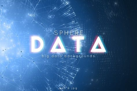 Sphere Big Data Backgrounds