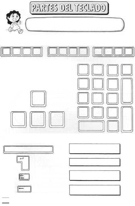 Partes Del Escritorio De Una Computadora Busqueda De Google Computacion Computadora Para Ninos Clases De Computacion