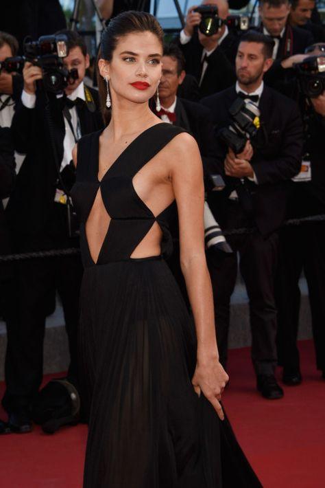 vs-aw: Sara Sampaio at the 2015 Cannes Film Festival. {fashion, couture, manhattan, love}