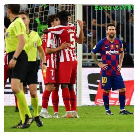 Barcelona Vs Atletico Madrid 2 3 Highlights Download Video In 2020 Atletico Madrid Barcelona Vs Atletico Madrid Messi