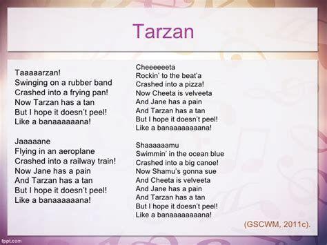 Image Result For Girl Scout Tarzan Song Lyrics Girl Scout Songs Girl Scout Camp Songs Tarzan Song Lyrics