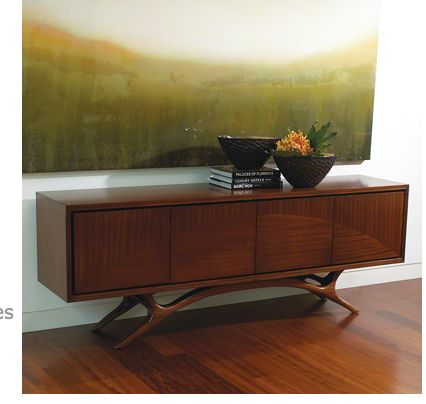 Swoop Media Cabinet - Global Views. Mid Century Dining TableMedia Cabinet Console ...