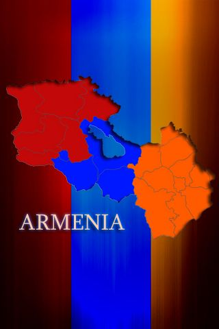 Armenian Iphone Wallpaper By Hyehd On Deviantart Flag Armeniya Oboi Dlya Telefona