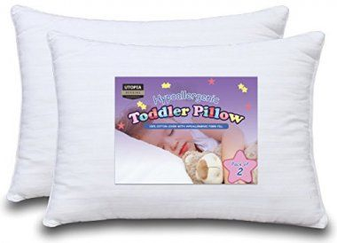 10 Best Toddler Pillows Reviewed Rated In 2020 With Images Toddler Pillow Baby Pillows Utopia Bedding