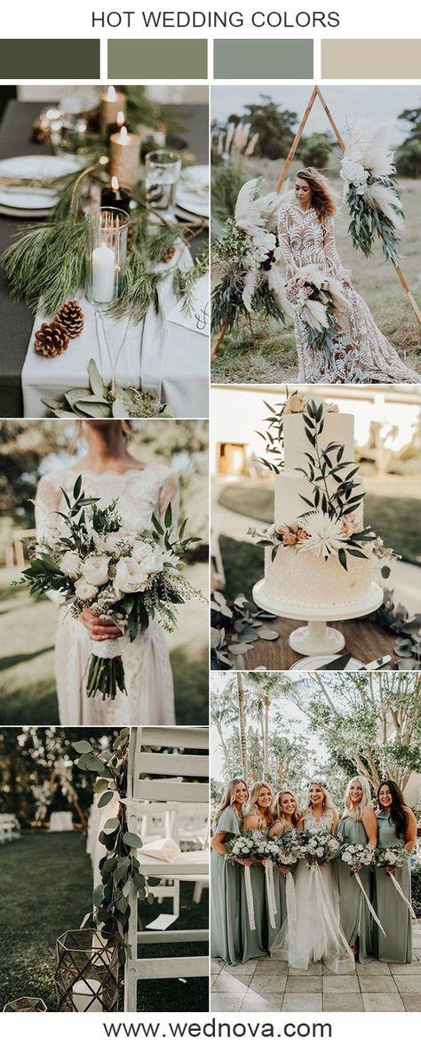 Sage green wedding ideas & inspirations #wedding #weddings #weddingideas #weddinginspirations #weddingcolor #weddingcolors #weddingtrends #bridesmaids #bridesmaiddress #sagegreenbridesmaiddress