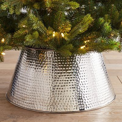 Modernize Your Holiday Setup By Swapping A Tree Skirt For Our