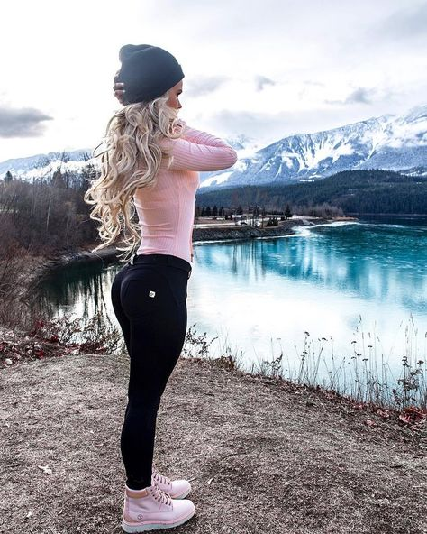 146 cute sporty outfits ideas try this fall – page 1 Cute Sporty Outfits, Cute Workout Outfits, Cute Winter Outfits, Sport Outfits, Fall Outfits, Snow Outfits For Women, Cute Hiking Outfit, Fitness Outfits, Winter Workout Outfit