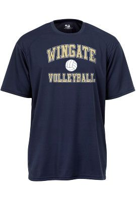 Dry Fit Volleyball Tee. $19.95.  Order now & ship today! Call 704-233-8025.