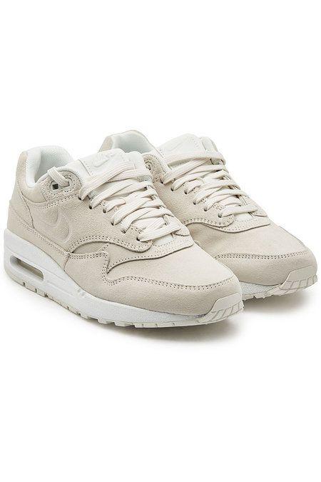 Nike - Air Max 1 PRM Suede Sneakers - beige