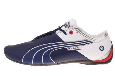 bdf08111e8e5 Amazon.com  Puma Future Cat M1 Big Medieval Blue Motorsport Mens Racing  Shoes 304349 02  Shoes. BMW race shoe!