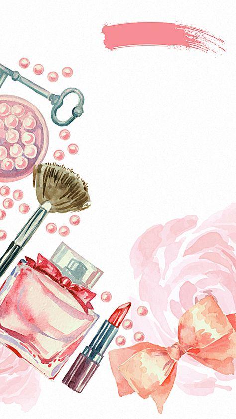 Tumblr Wallpaper Makeup Background