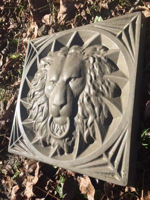 Lions Head Concrete Mold | concrete molds | Concrete molds, Stepping