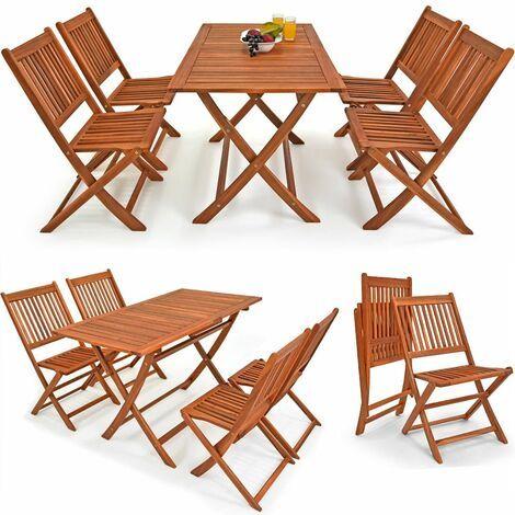 Sitzgruppe Sydney Light 4 1 Fsc Zertifiziertes Akazienholz 5 Tlg Tisch Klappbar Sitzgarnitur Holz Garten Set In 2021 Gartenmobel Holz Aussenmobel Terrassentisch