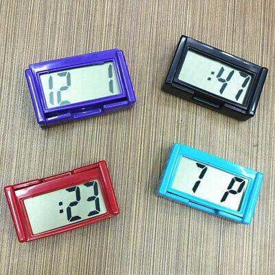 Digital LCD Table Car Dashboard Desk Date Time Calendar Small Clock Useful