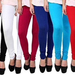 Home In 2020 Cotton Lycra Leggings Pants For Women Solid Leggings