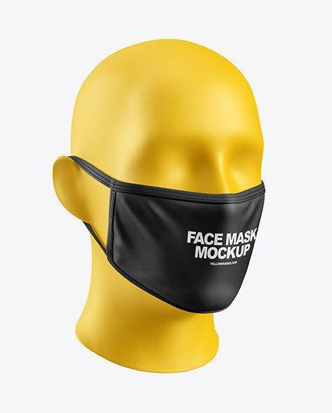 Download Disposable Face Mask Mockup Face Mask Mockup In Apparel Mockups On Yellow Images Object Mockups In 2020 Clothing Mockup Design Mockup Free Face Mask PSD Mockup Templates