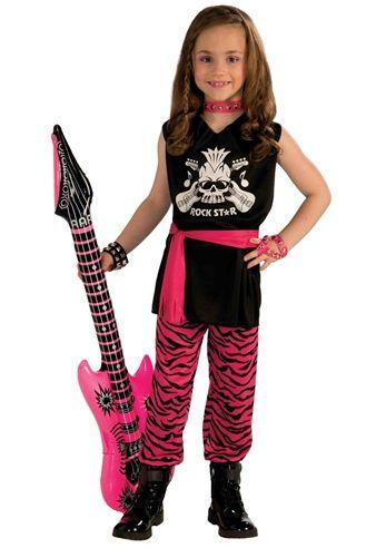 Child/'s Snake Rock Star Diva Costume