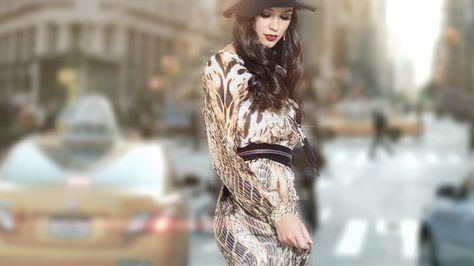 Twenty4fashion Fashion Autumn Fashion Long Sleeve Dress
