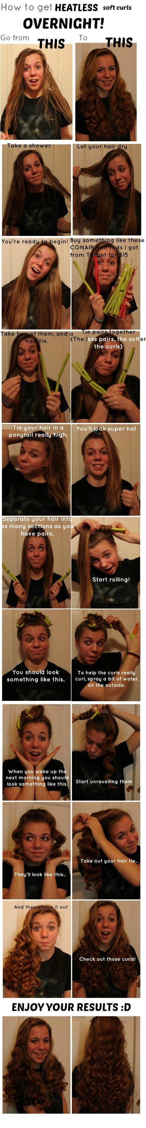 Overnight curls