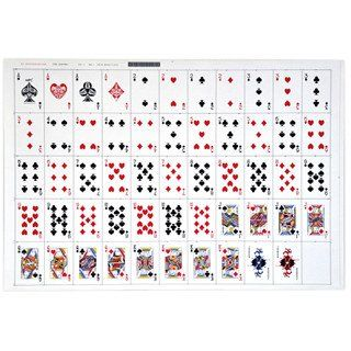 Deck Of Cards Template Uncut Sheet Bridge Playing Cards Bridge Playing Cards Playing Cards Design Game Card Design