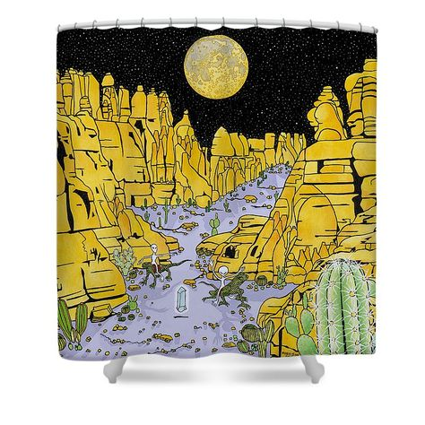 A Unique And Functional Sci Fi Shower Curtain For Those Geeks Who Find Mystery In Everything Christmas Ideas