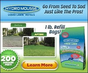 Hydro Mousse Liquid Lawn Is The Grass That Grows Where You Spray