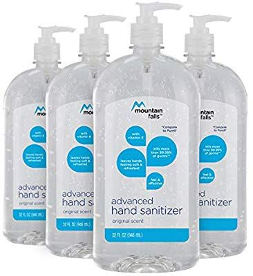 Amazon Com Mountain Falls Advanced Hand Sanitizer With Vitamin E