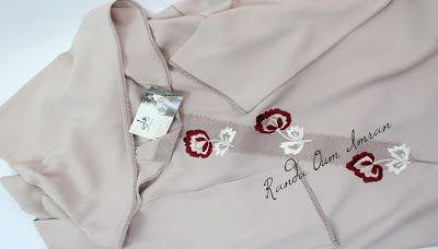 موديل براندة الحصيرة مطروزة بالرباطي على ثوب الكريب من أعمالي روووعة Fashion Coat Lab Coat
