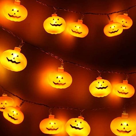 Pumpkin LED Lights