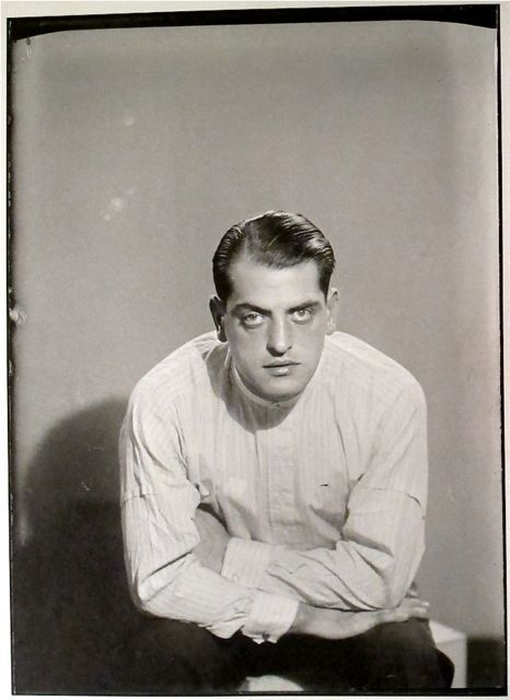Luis Bunuel by Man Ray - Paris - 1929