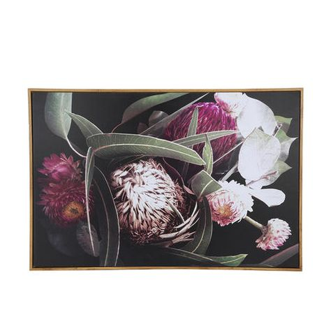 Native Floral Canvas Kmart In 2019 Nativity Canvas Wall Art Prints