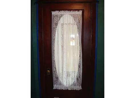 Window Treatments Oval Window In Door Thenest Front Door