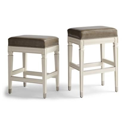 Wexford Rectangular Backless Counter Stool 26 In 2020 Counter Stools Metal Counter Stools Backless Bar Stools