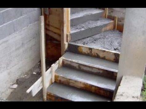 treppe selber betonieren