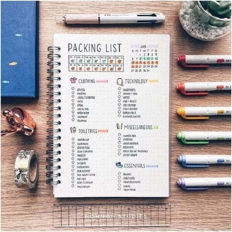 Do you want to start a bullet journal? Check out these 23 Awesome Bullet Journal Ideas to Get You Motivated! bullet journal, bullet journal ideas, bullet journal layout, bullet journal inspiration #bulletjournal #bulletjournalideas #journalideas via www.sharpaspirant.com