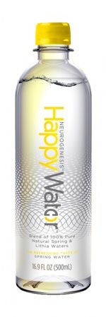 Vancouver based Happy Water has launched Neurogenesis Happy Water which contains 0.1 ppm of lithium (lithia salts) from springs in the British Columbian mountain ranges. Potential Beverage Innovation Awards winner at Drinktec?