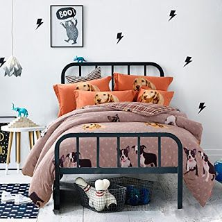 Bedroom Decor Ideas And Designs: Top Ten Dog Themed Bedding For Dog Lovers!  | Bedroom Ideas | Pinterest | Queen Size And Bedrooms