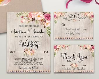This Item Is Unavailable Floral Wedding Invitations Floral Wedding Invitations Printable Wedding Invitation Sets