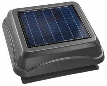 Broan Surface Mount Solar Powered 537 Cfm Attic Ventilator Solarpanels Solarenergy Solarpower Solarg In 2020 Solar Panels Solar Panel Installation Solar Energy Panels