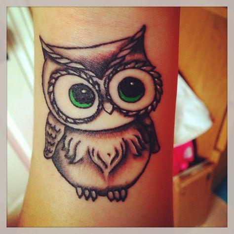 Perfect Tatuagens Tatuagem De Coruja Pequena Tatuagem E