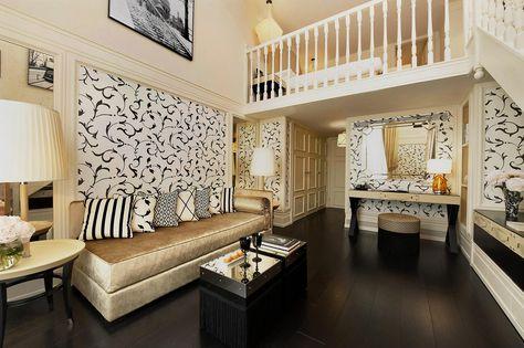 Duplex Room, Hotel Castille, Paris