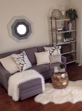 The Best Diy Apartment Small Living Room Ideas On A Budget 105 Small Apartment Living Room Small Apartment Decorating Farm House Living Room