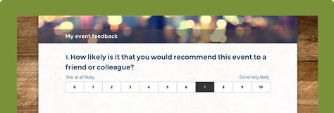 Event Surveys Questions Templates Surveymonkey This Or That