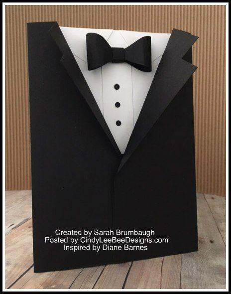 Tuxedo Templates Card Making Unique Favors Tuxedo Card Cards Card Making