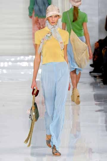 Ralph Lauren Spring 2012: Daisy Buchanan in Her Easter Sunday Best