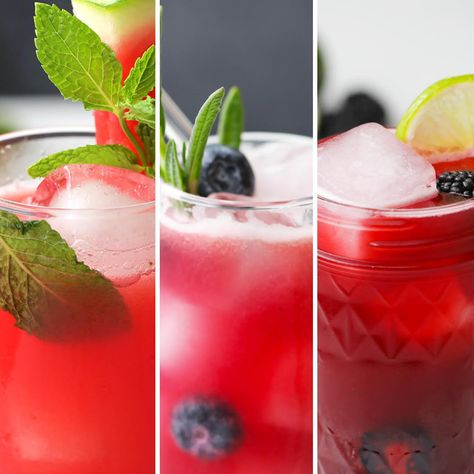 Celebrate the start of summer with these refreshing lemonades. All three can be blended, shaken, or stirred in 15 minutes or less thanks to GEICO.