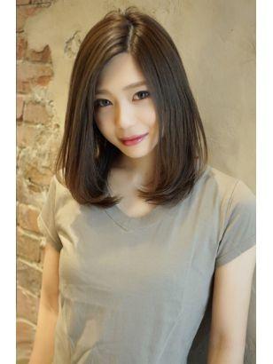 2019年夏 ミディアムの髪型 ヘアアレンジ 人気順 11ページ目 ホットペッパービューティー ヘアスタイル ヘアカタログ ヘアスタイル 髪型 ビューティー