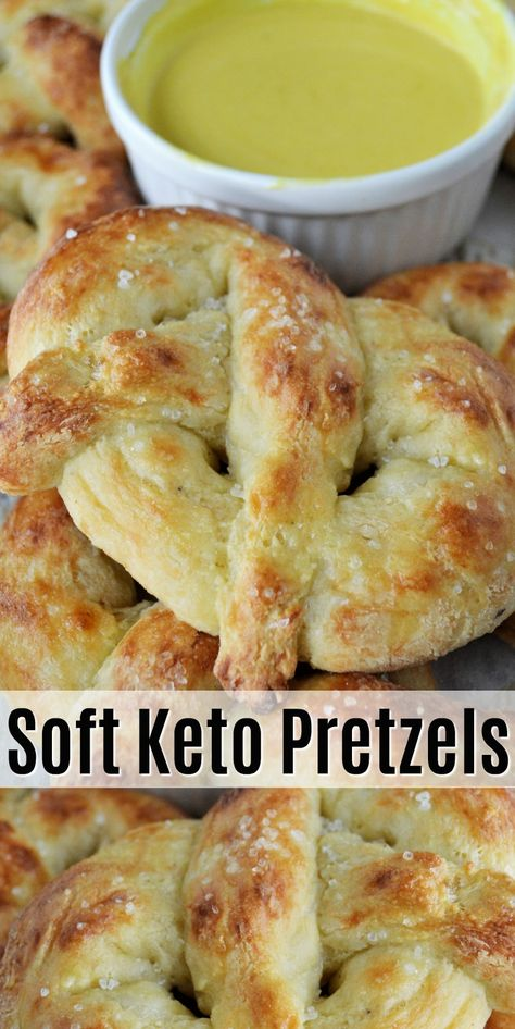 Soft Keto Pretzels - Learn how to make these soft keto pretzels made with fat head dough. Easy healthy snack that you can serve with your favorite keto-friendly dip! #keto #ketodiet #ketorecipes #ketopretzels #pretzelrecipes #pretzels #healthysnacks #fatheaddough #food #recipes
