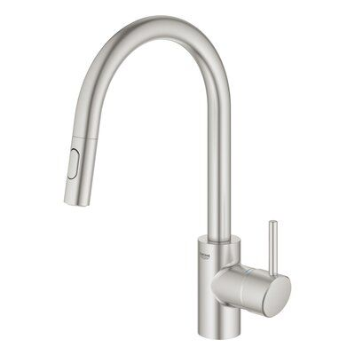 Grohe Concetto Dual Spray Pull Down Single Handle Kitchen Faucet